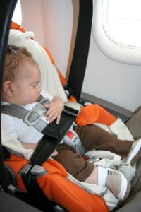 baby's first flight, travel with a newborn, flying with a newborn,