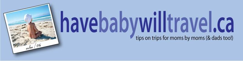 baby travel website have baby will travel original banner