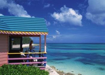 The Islands Of The Bahamas, The Bahamas, Beach Hut