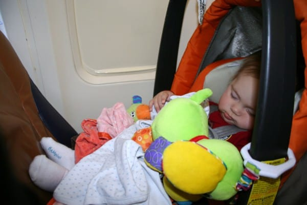 Car Seat On Airplane: Flying With Baby: Travel Tips For Flying With An Infant 3