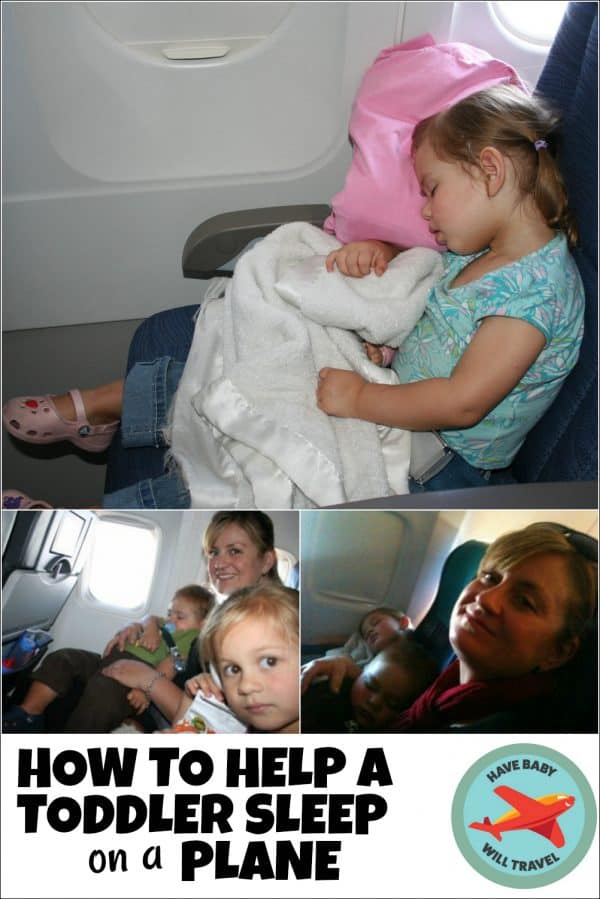 How to Help a Toddler Sleep on a Plane | Have Baby Will Travel