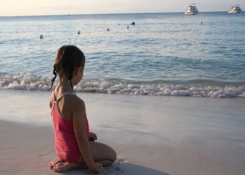 turks and caicos beach, girl on beach, turks and caicos, beaches resort, provo beach
