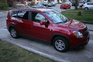 test drive, car reviews, chevy orlando, 2012 chevrolet orlando, chevy orlando review