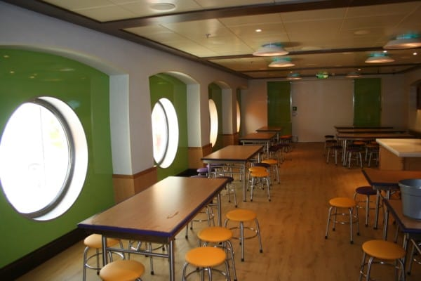 Disney Fantasy Kids Club, Oceaneer Club, Dining Room, Disney Fantasy, Kids  Club