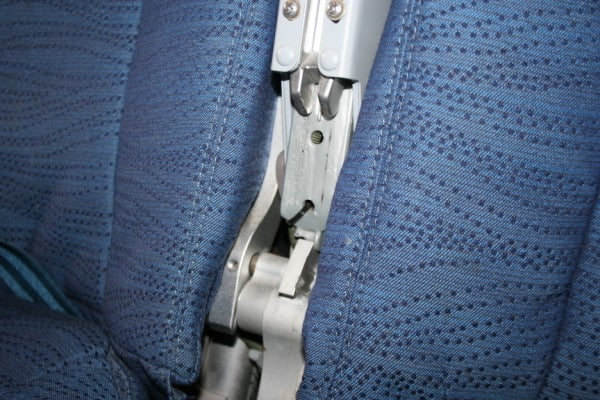 airplane safety, a321, airbus 321, aircraft armrest hinge