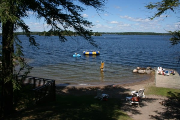 irwin inn beach, stoney lake beach, irwin inn