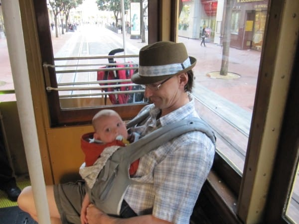 places to go with a baby, Mini Globetrotters SF Trolley, travel with baby