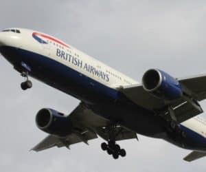 british airways, british airways with an infant, british airways with a child, british airways with a baby