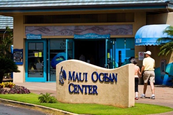 maui ocean center, hawaii, Family Vacations on Maui