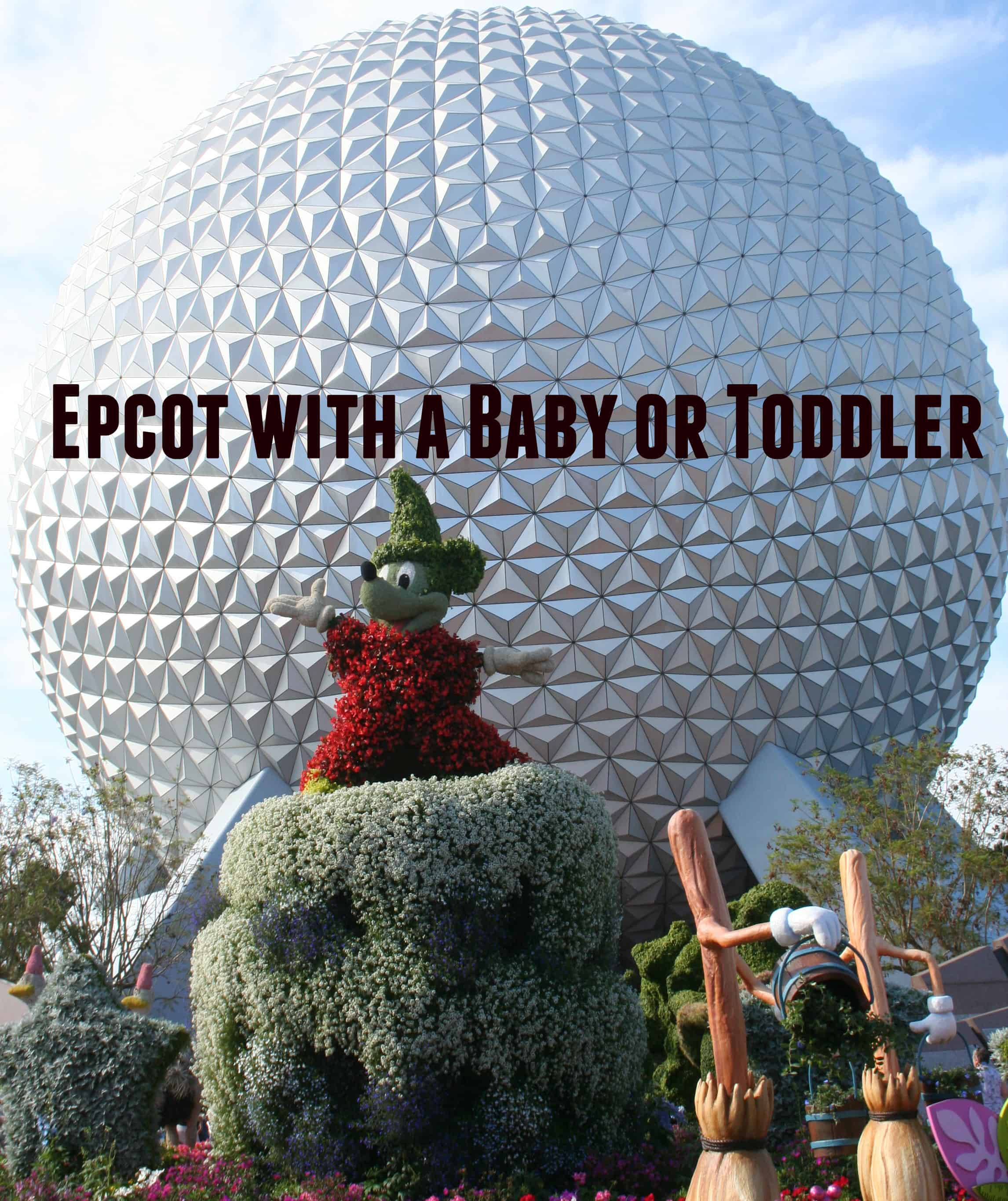 epcot with a baby, epcot with a toddler, epcot with kids