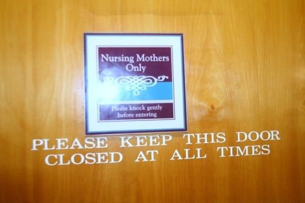 Baby Distracted Nursing When In Quiet Room