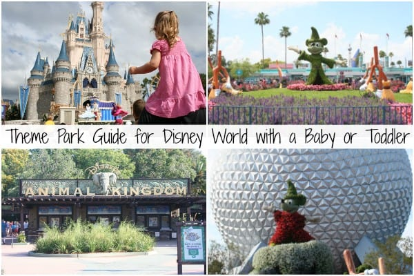 Disney World with a Baby, Disney World with a Toddler, disney theme parks with baby, disney theme parks with a toddler