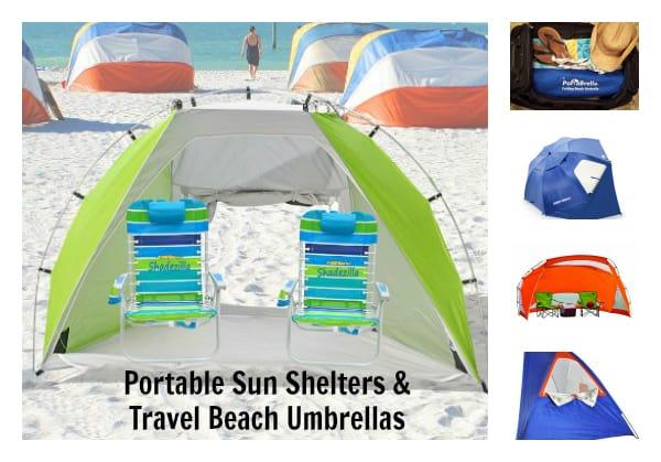 Portable Sun Shelter Travel Beach Umbrellas Have Baby Will