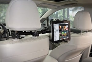 ipad car mount, tablet headrest mount, best headrest mount, mount ipad in car