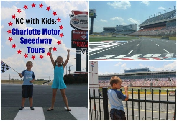 North Carolina with Kids: Charlotte Motor Speedway Tours
