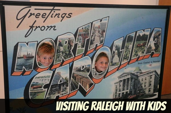 Visiting Raleigh with Toddlers and Kids