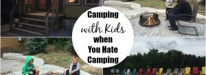 koa deluxe cabins, hate camping, koa with kids, camping with kids