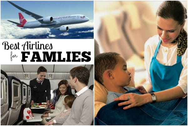 best airlines for families, flying with baby, flying with kids