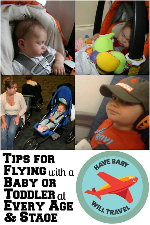 Flying With An Infant A Baby Toddler