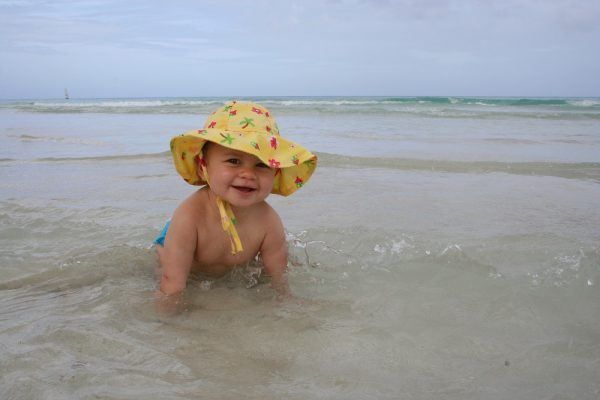 baby's first trip, Best Vacations with a Baby, Vacations with a Baby, best places to travel with a baby, places to travel with a baby, varadero beach with baby