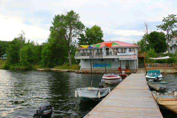 Viamede Resort's Restaurant, The Boathouse
