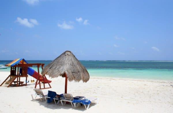 Azul Beach Resort Beach vacations with a baby