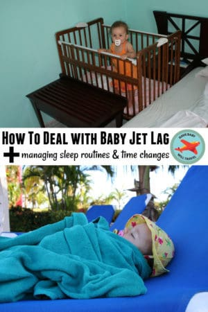 Tips for coping with baby jet lag